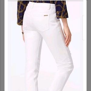 white michael kors jeans